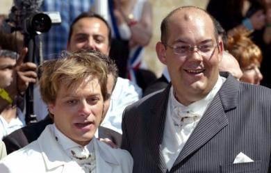 Mariage homo à Bègles, 2004.