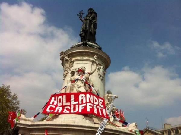 Place de la République, samedi 12 avril