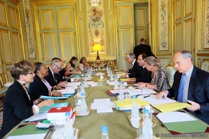 Réunion ministérielle sur la réforme pénale, le 30 août.