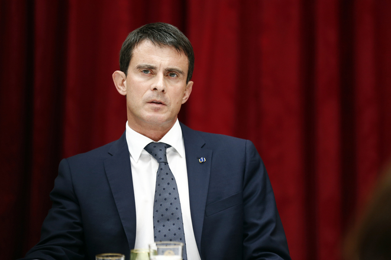 Manuel Valls, le 22 juillet dernier.