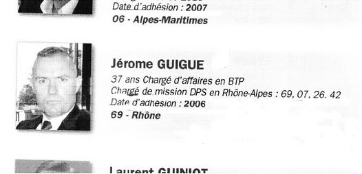 Présentation officielle de Jérôme Guigue pour sa candidature au Comité central du FN, lors du congrès de Tours en 2011.