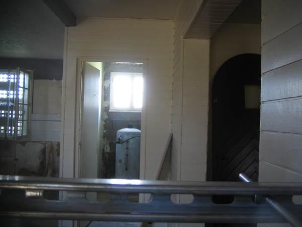Intérieur de la maison de la Noë verte saccagé par les saucialistes