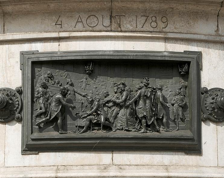 Bronze de Léopold Morice, Monument à la République, Place de la République à Paris, 1883