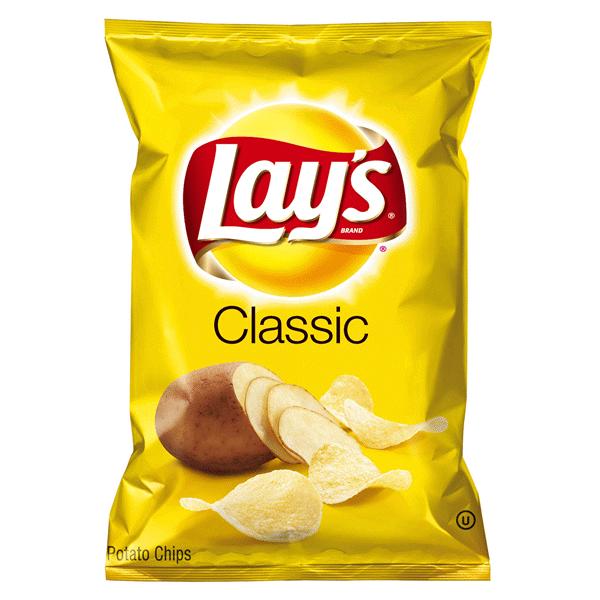 Lays Classic Potato Chips 275 Oz