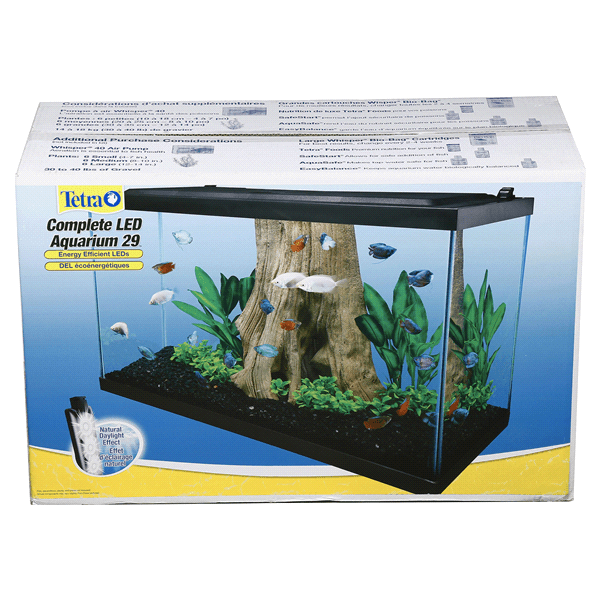 tetra glass aquarium kit 29 gallon