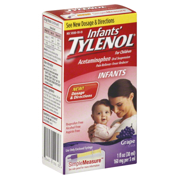 Tylenol Infants Simple Measure 1 Oz