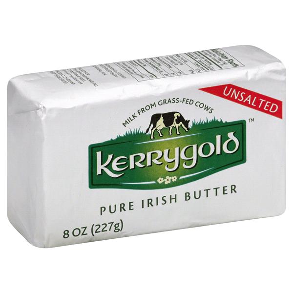 Kerrygold Pure Unsalted Irish Butter 8 Oz