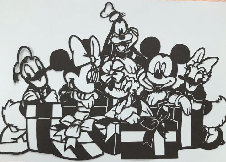 メルカリ - 再販♫ ディズニー切り絵 【クラフト/布製品】 (¥550) 中古や