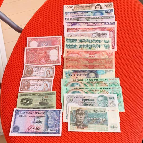 「色んな国紙幣」の画像検索結果