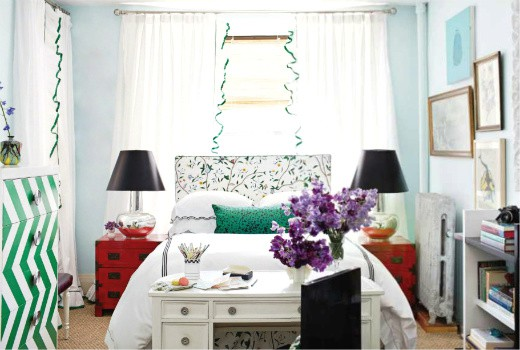 Decorating Small Apartment Bedroom