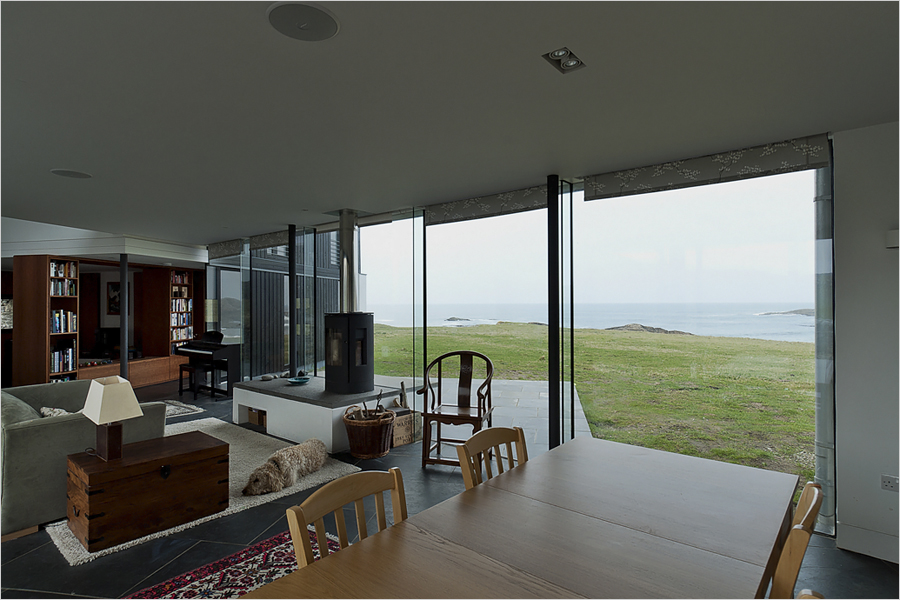 Modern Home Built Within A 150 Year Old Abandoned Farmhouse