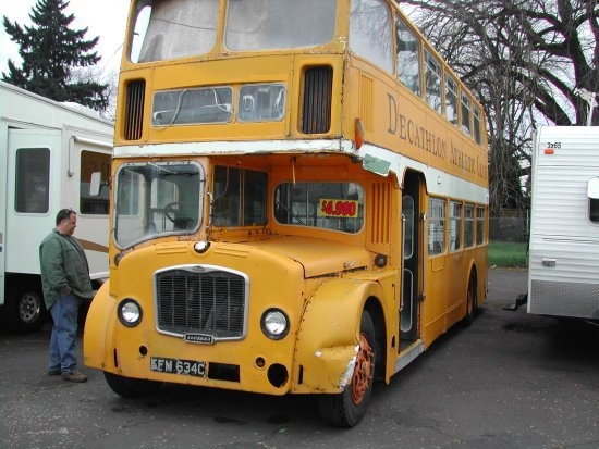 The Vintage Double Decker Bus Shop Friends | Used Spiral Staircase For Sale Craigslist | Metal | Ladder | Wood | Staircase Kits | Argus Brewery