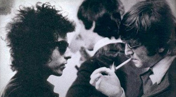 Image result for bob dylan and john lennon photos
