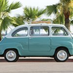 This Adorable Mint Green Fiat Twinset Is For Sale