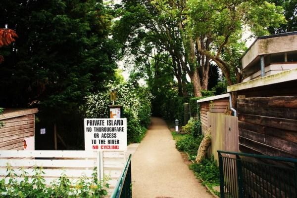 Private Island Sign