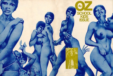 The Iconic and Subversive Oz Magazine - In all its Psychadelic Glory