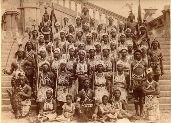 Image result for Dahomey female army