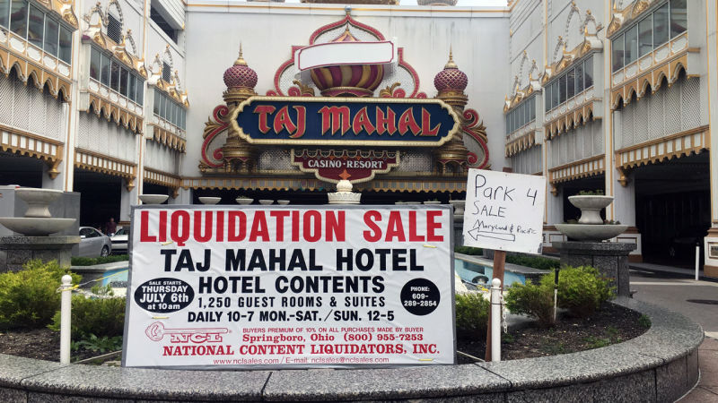 Ghost Hotels of Trump's Atlantic City Empire