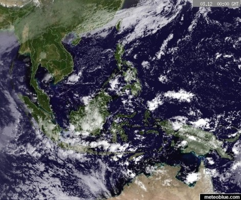 Weather maps   Southeast Asia   meteoblue     map