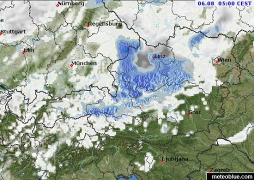 Weather maps   Austria   meteoblue map map map map map