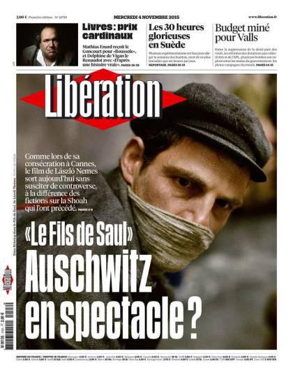 Libération du Mercredi 4 Novembre 2015