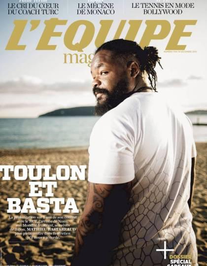 L'Équipe Magazine N° 1744 du samedi 19 décembre 2015