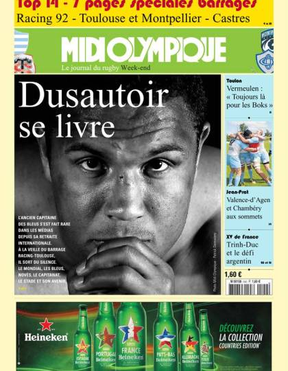 Midi Olympique Vert du vendredi 10 juin 2016