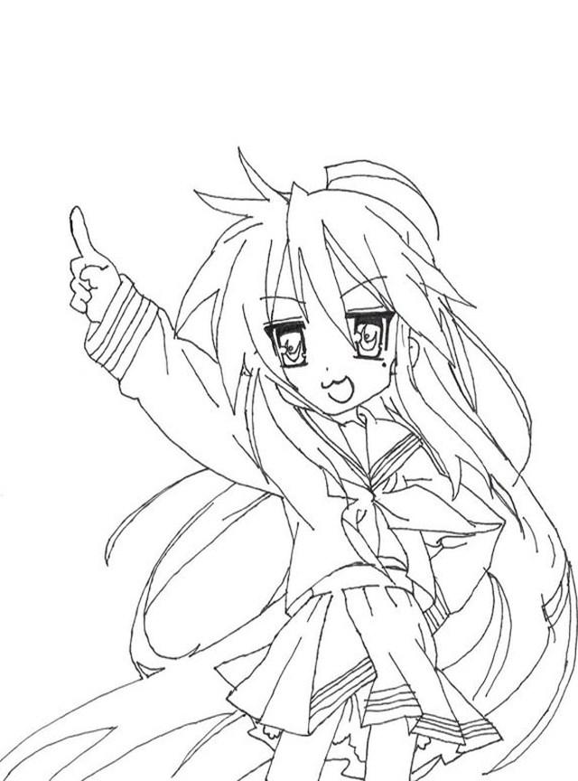 Konata Izumi: KonataISM - Drawn in Paint - Minitokyo