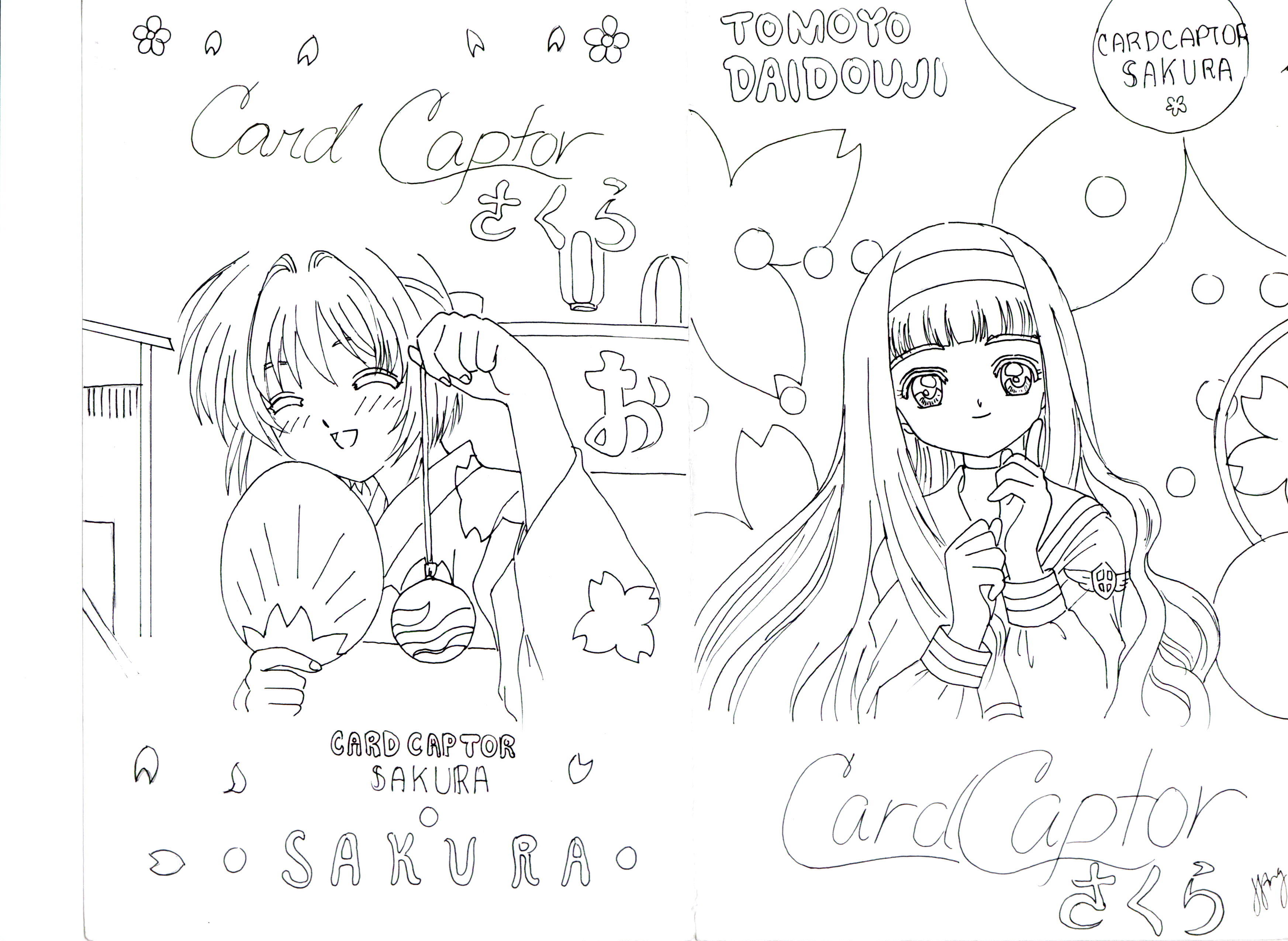 Cardcaptor Sakura Sakura And Tomoyo