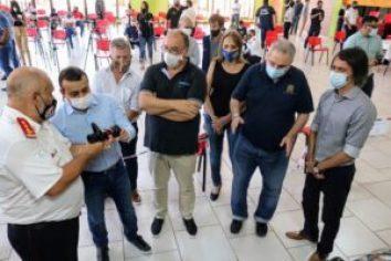 Gobierno entregó subsidio de 10 millones de pesos a la Federación Misionera de Bomberos Voluntarios
