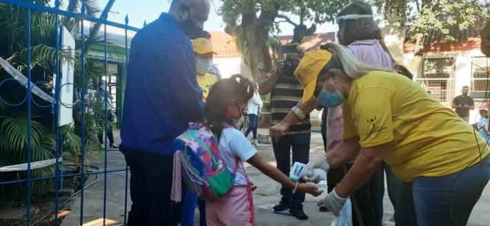 Comenzó el simulacro para el regreso a las clases presenciales en Misiones