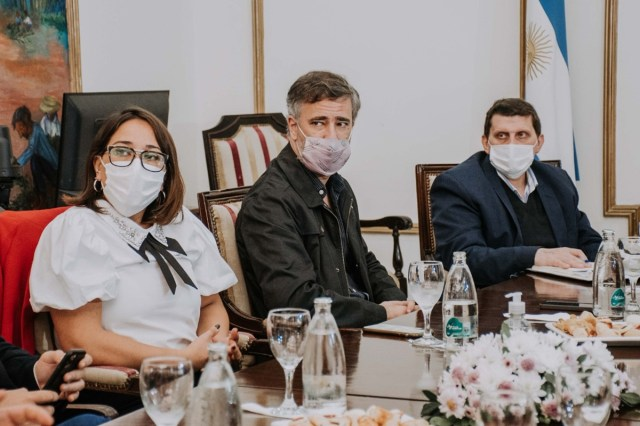 El Gobernador de Misiones y miembros del gabinete se reunieron con referentes empresarios y cámaras empresariales