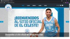 Oberá Tenis Club presentó su sitio web Oficial