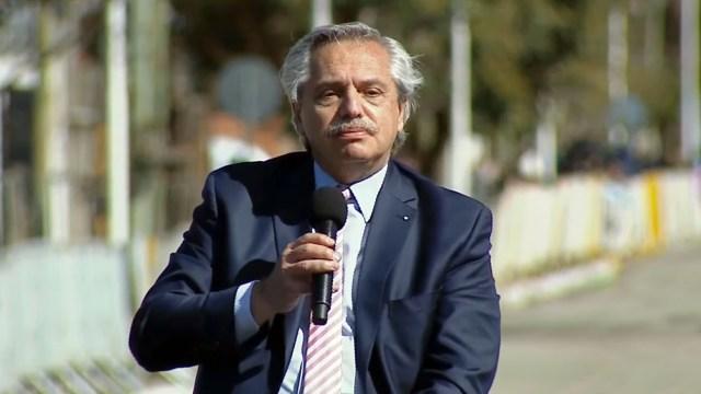 Alberto Fernández inauguró 100 obras públicas en toda la Argentina