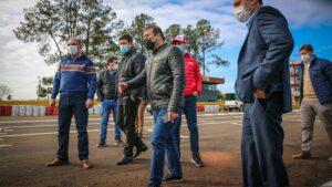 """Herrera Ahuad destacó el arribo del Turismo Carretera """"porque las inversiones quedan para el campeonato zonal"""" y defendió las habilitaciones en ese deporte con una mirada hacia """"los trabajadores que viven de la actividad"""""""
