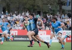 Rugby   Con try del misionero Martín Bogado, Argentina XV le ganó a Uruguay en Montevideo