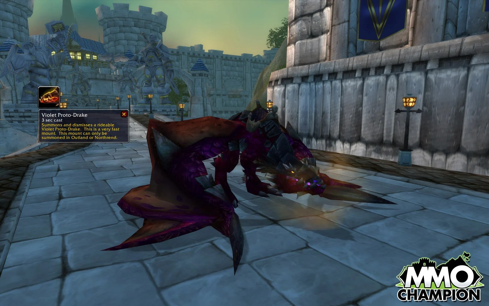 The Elusive Proto-Drake, in Purple flavor