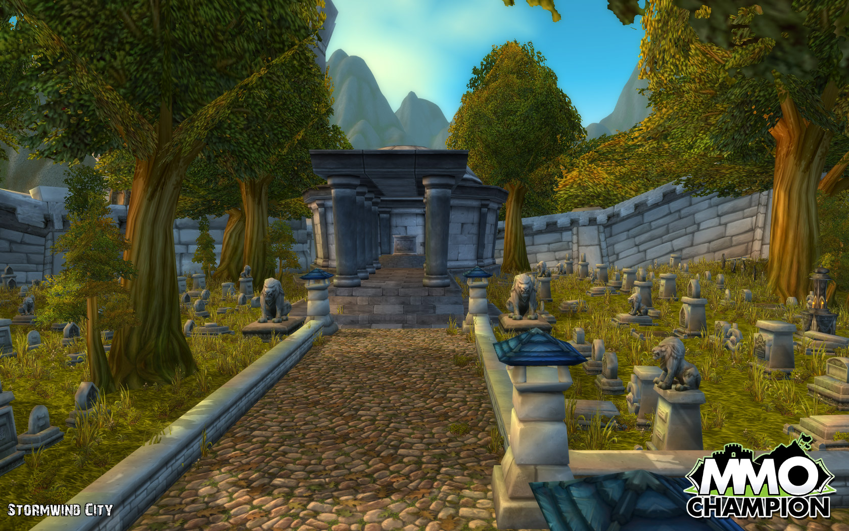 Image result for arthas grave in stormwind