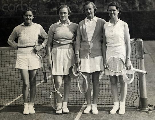 Petit historique de la mode féminine au tennis tennis mode 7