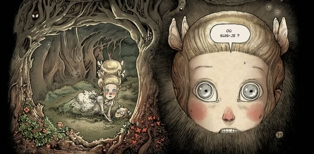 «Dans la forêt », une BD organique et poétique   Interview danslaforet1