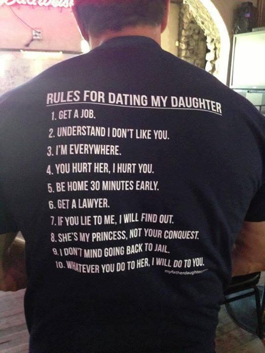 «Ma chère fille, j'espère que tu auras une vie sexuelle épanouie.» 10rules shirt1