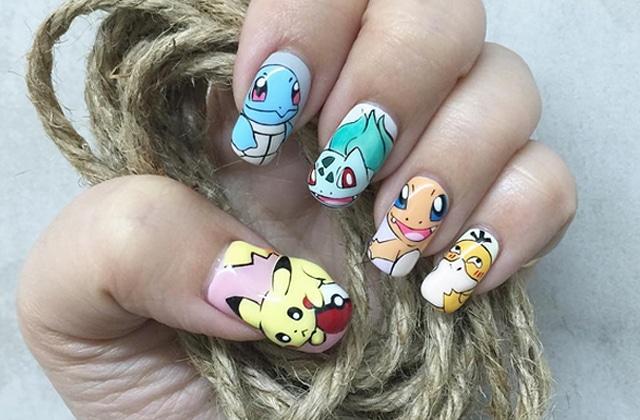 Idées De Nail Arts Pokémon Pour être La Meilleure Dresseuse