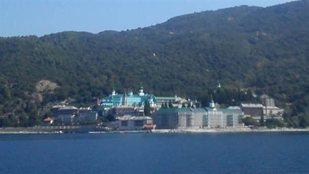 Manastir Svetog Pantelejmona na Svetoj gori