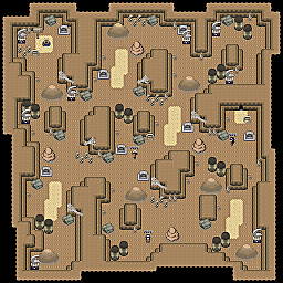 Mystifying Cavern F1 Game Map for Pokemon Online Players Route Order: 469
