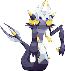 ID: 1091 Ghoulver - Pokemon - Fakemon - Features Monster MMORPG Online