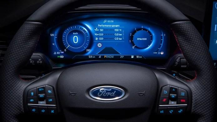 Ford Focus 2022 - interior