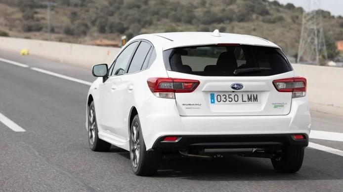 Subaru Impreza EcoHybrid - rear