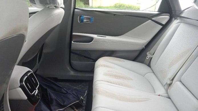 Hyundai IONIQ 6 - interior spy photo