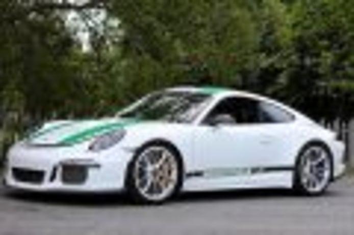 The Porsche 911 R 2016 and 928 CS prototype ex Derek Bell new absolute records