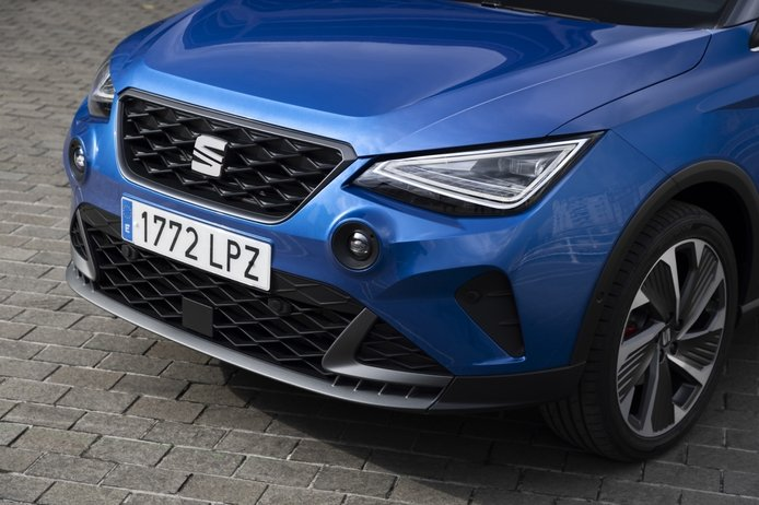 Test SEAT Arona 2021, the path marked (with video)